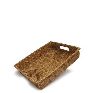Kleines Tablett Texmex aus Rattan von Sagaform