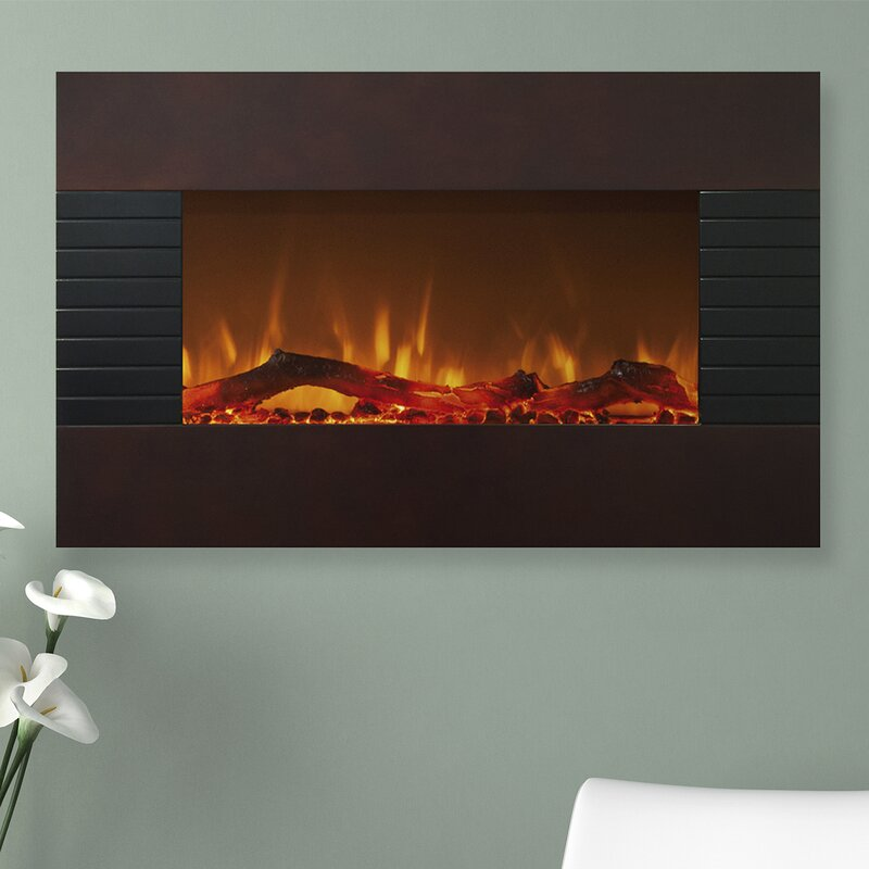 Northwest Wall Mount Electric Fireplace & Reviews | Wayfair