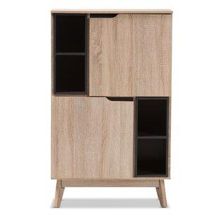 tall storage cabinet with doors 18 inch ezra storage cabinet modern contemporary tall door allmodern