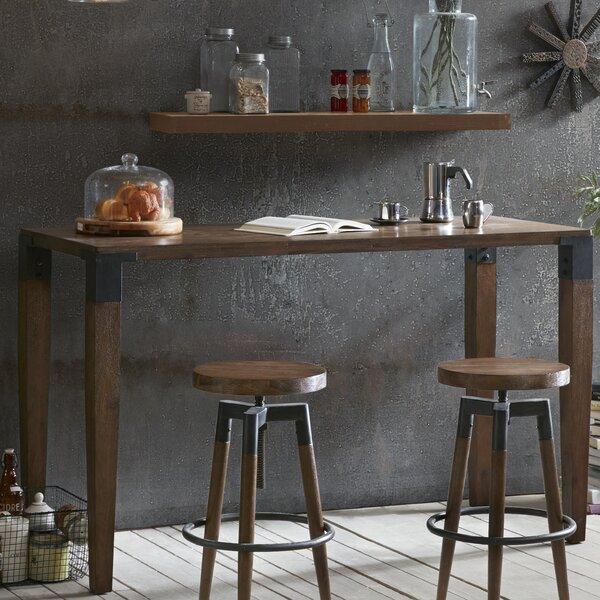 Williston Forge Deskins Counter Pub Table Amp Reviews