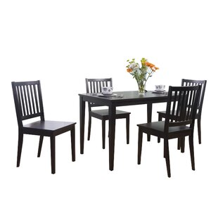Save to Idea Board  sc 1 st  Wayfair : black kitchen table and chairs set - pezcame.com