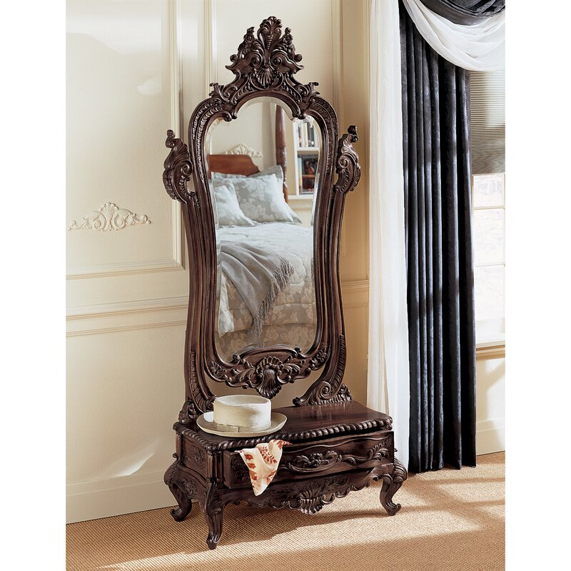 Victorian Dressing Mirror