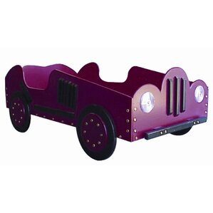 Old Style- Race Toddler Car Bed by Just Kids Stuff