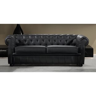 Leather Chesterfield Sofa Set Wayfair