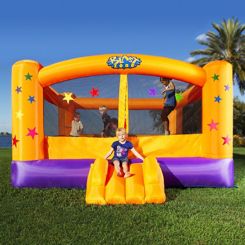 Blast Zone Superstar Bounce House & Reviews | Wayfair