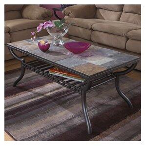 stone & slate coffee tables you'll love   wayfair