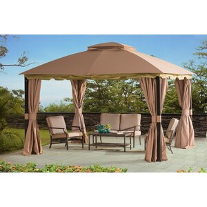 Pine Knob 10 Ft. W x 12 Ft. D Metal Patio Gazebo