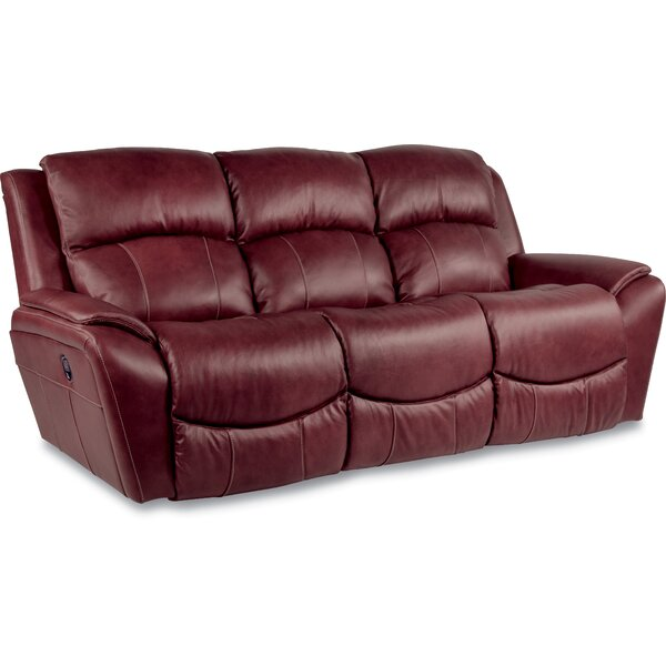La Z Boy Barrett Leather Reclining Sofa U0026 Reviews | Wayfair Part 26