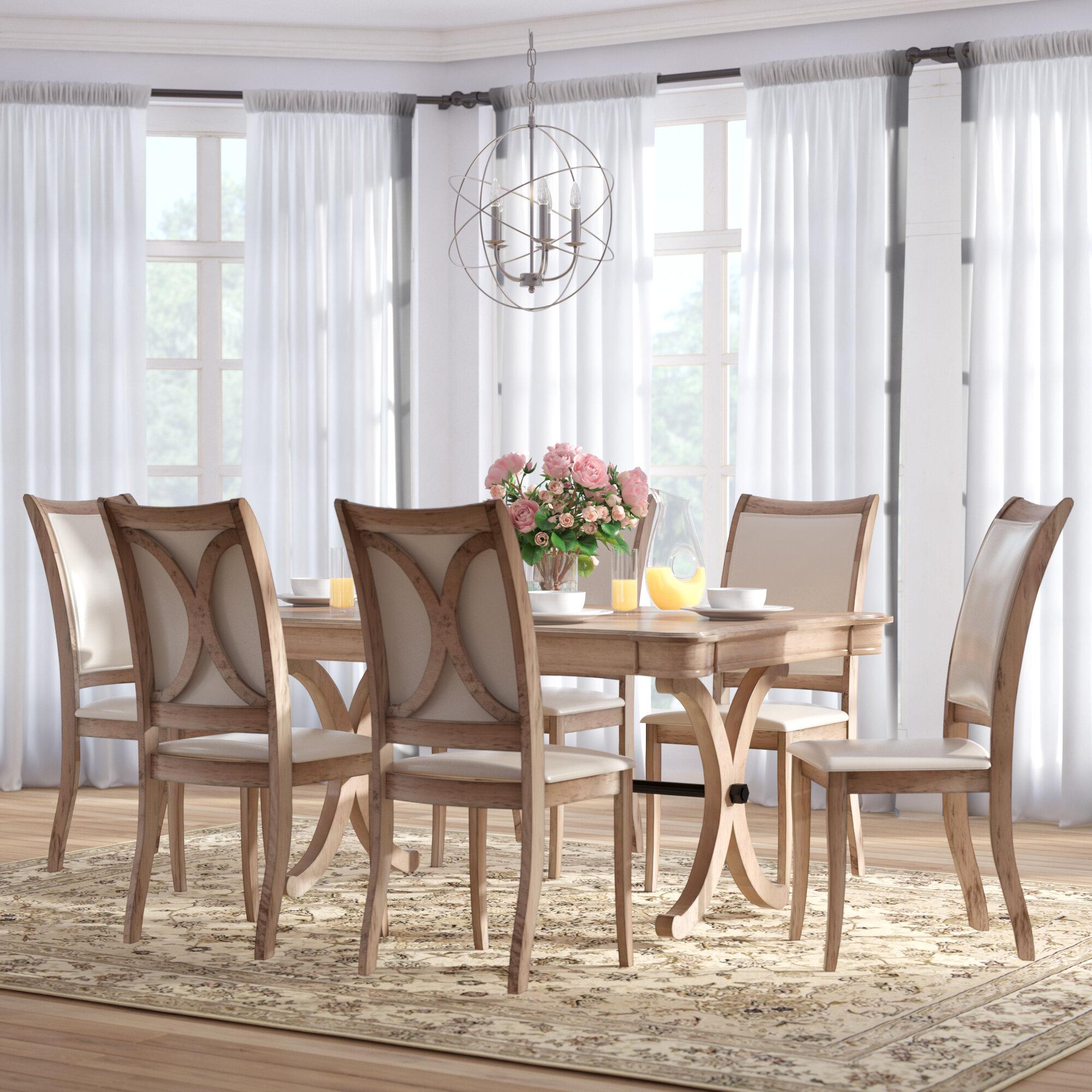 One Allium Way Chelsea 7 Piece Dining Set & Reviews   Wayfair