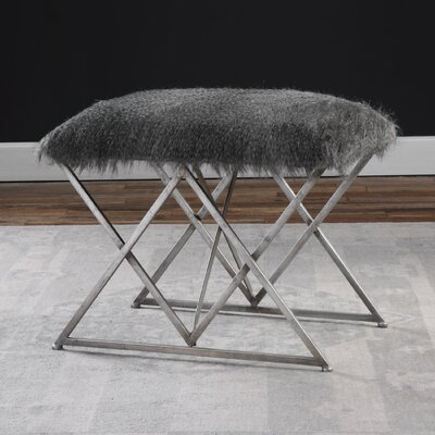 Fur Stool Wayfair
