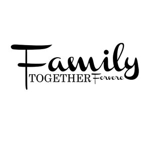 Family Together Forever Vinyl Wall Decal