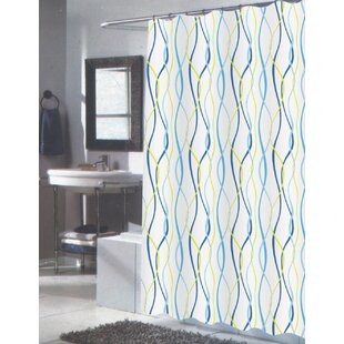 Gray And Teal Shower Curtain. Wanda Shower Curtain Yellow  Gold Curtains You ll Love Wayfair