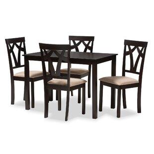 Wrentham 5 Piece Dining Set