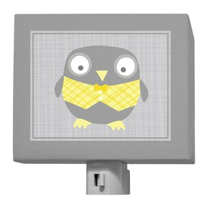 Happy Owl Night Light
