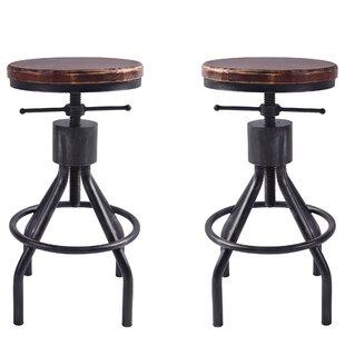 Magnificent 17 Stories Verdell Adjustable Height Swivel Bar Stool Wayfair Alphanode Cool Chair Designs And Ideas Alphanodeonline