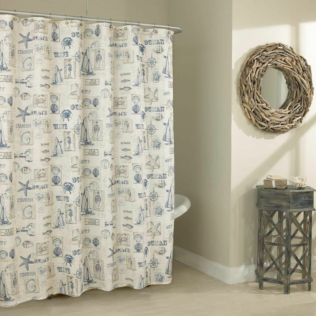 Rosecliff Heights Prospero Beach Home Classic Shower Curtain ...