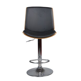 Brickhouse Adjustable Height Swivel Bar Stool