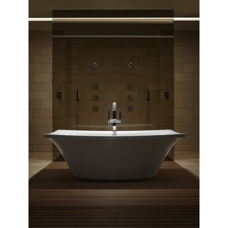 K-14037-G-0,47,96 Kohler Escale Freestanding Bubblemassage 72\