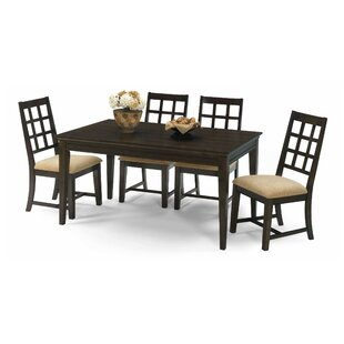 Bobbie 5 Piece Solid Wood Dining Set