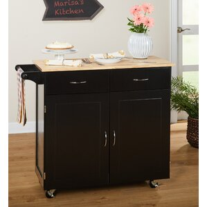 Black Kitchen Islands Carts Youll Love Wayfair