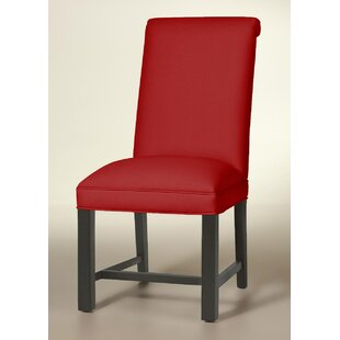 Rolled Back Chippendale Upholstered Dining Chair