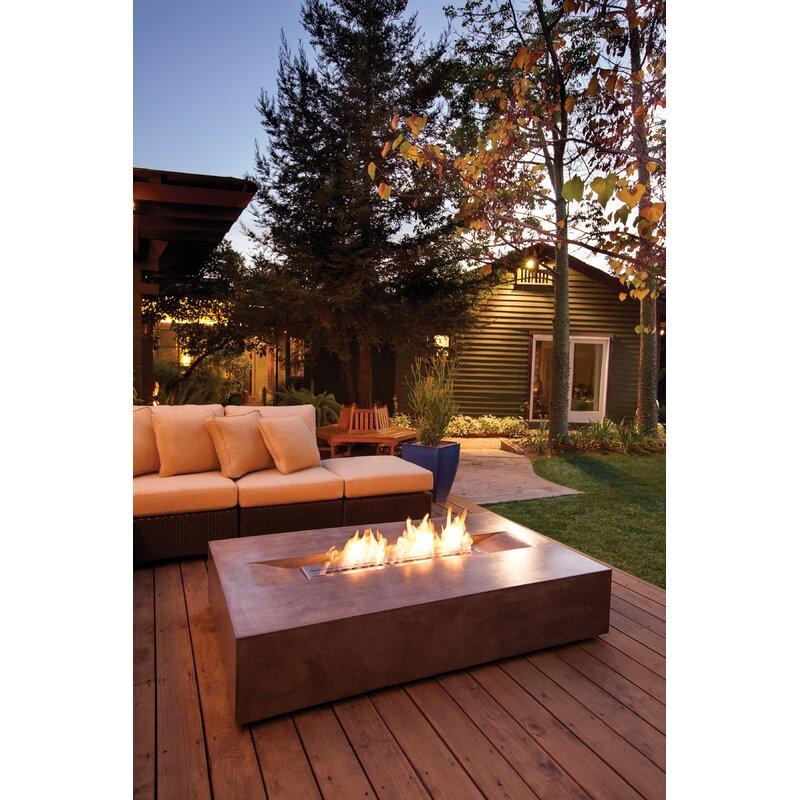 pretty nice 5d8ff 9b004 Flo Concrete Gas Fire Pit Table