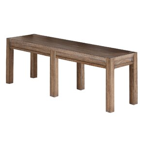 Plessis Twin Falls Wood Bench by One Allium Way