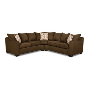 simmons marta sectional - Curved Sofas