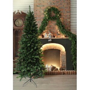 7u0027 Green Douglas Fir Artificial Christmas Tree With Stand