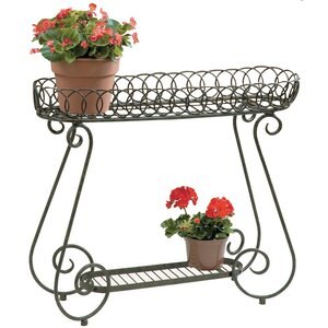 Oval Ring Plant Stand