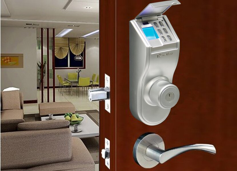 iTouchless Bio-Matic Fingerprint Door Lock Reviews 2019