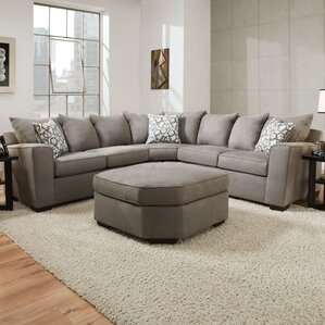 Simmons Sectional : rounded corner sectional sofa - Sectionals, Sofas & Couches