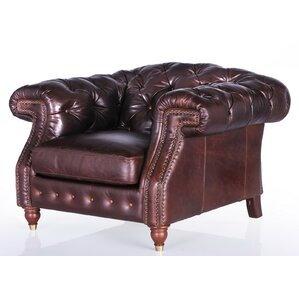 Erandi Top Grain Classical Armchair by..