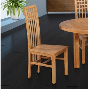 Koome Solid Wood Dining Chair (Set of 2)