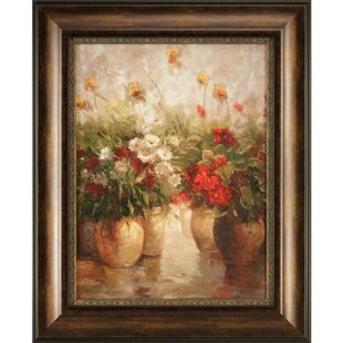 Ashton Art Décor Large Framed Painting Print