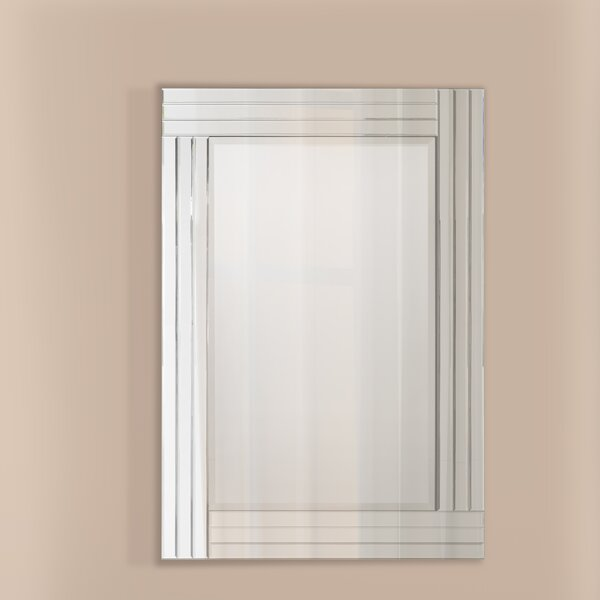 Art Deco Wall Mirror selectionschaumont gatsby art deco wall mirror & reviews | wayfair