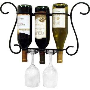 Birmingham 3 Bottle Wall Mounted Wine ..