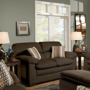 Britton Loveseat by Simmons Upholstery by Re..