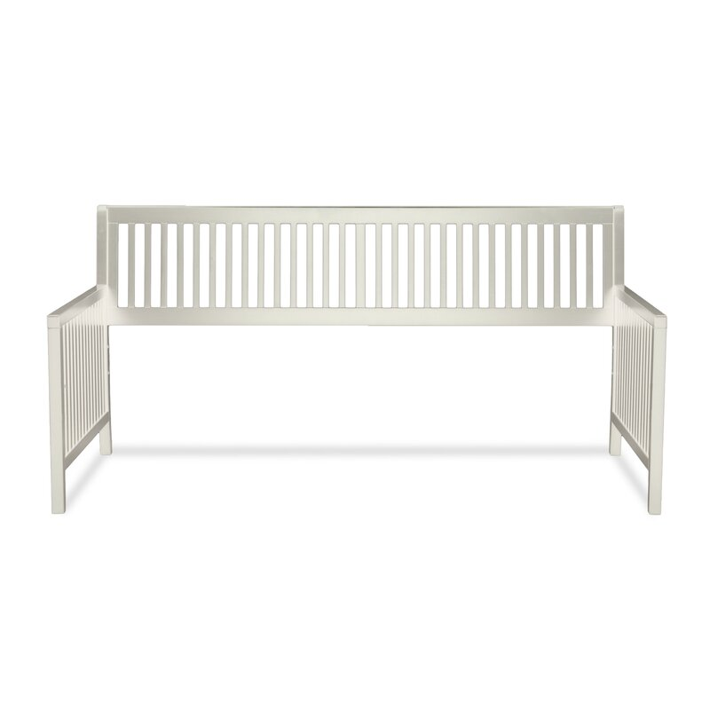 Andover Mills Chafin Wood Daybed Frame with Open-Slatted Back and ...