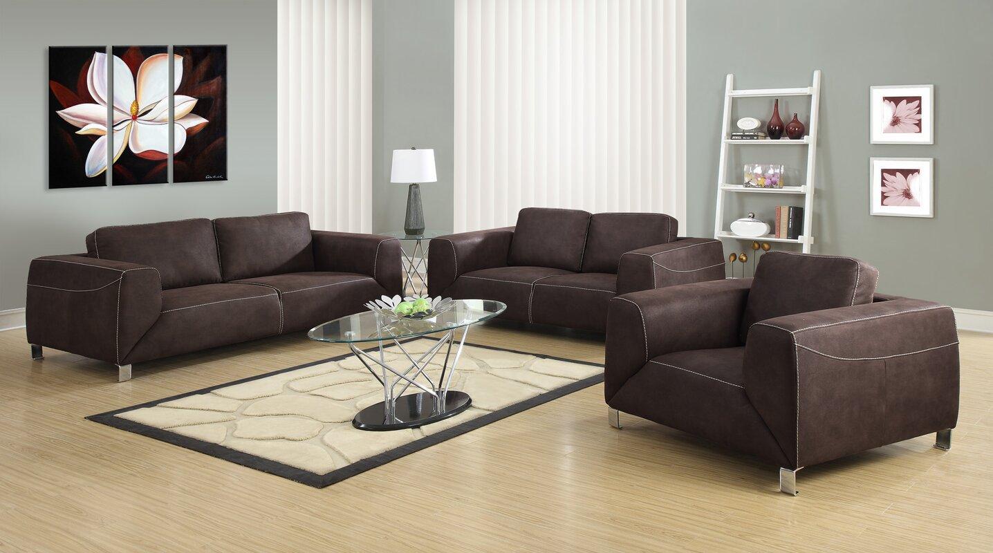 Monarch Specialties Inc Configurable Living Room Set Reviews Wayfair