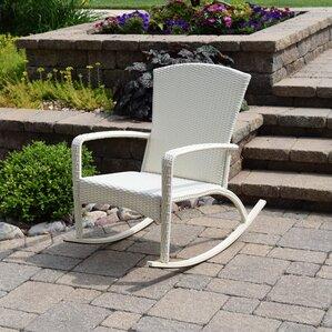 truesdell woven adirondack rocking chair - Adirondack Rocking Chair
