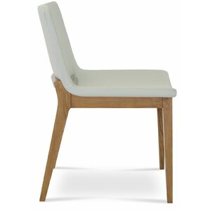 Nevada Wood Upholstered Di..