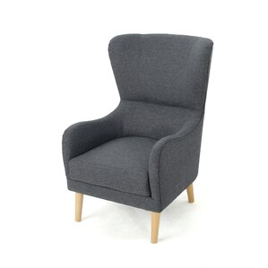 Preusser Wingback Chair by Varick Gallery