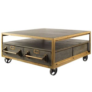 Hudson III Rolling Coffee Table by Inspired D?cor and Interiors