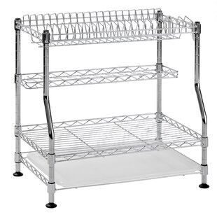 Superbe 3 Tier Wire Dish Rack