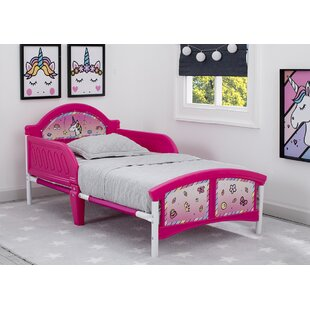 Rainbow Dreams Unicorn Toddler Bed by Delta Children