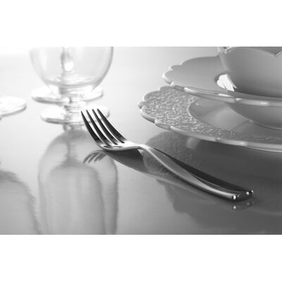 Alessi Dressed 24 Piece 18/10 Stainless Steel Flatware Set, Service for 6