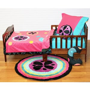 Magical Michayla 4 Piece Toddler Bedding Set