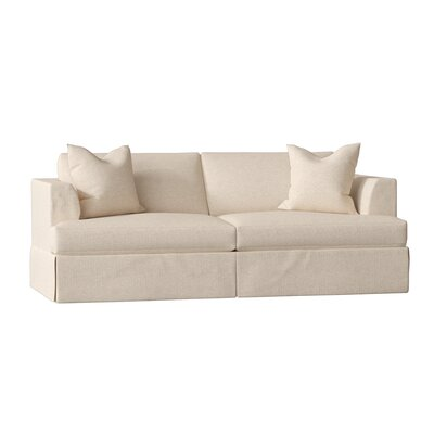 Modern Amp Contemporary Wood Arm Sofa Allmodern