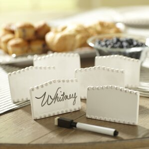 milford place card holders set of 6